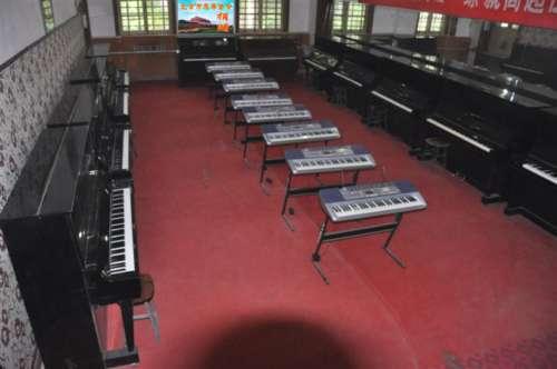 电子钢琴室